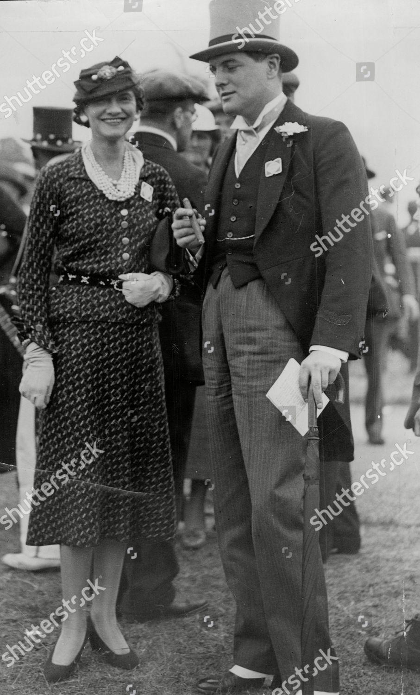 Politician Randolph Churchill Fashion Designer Coco Chanel