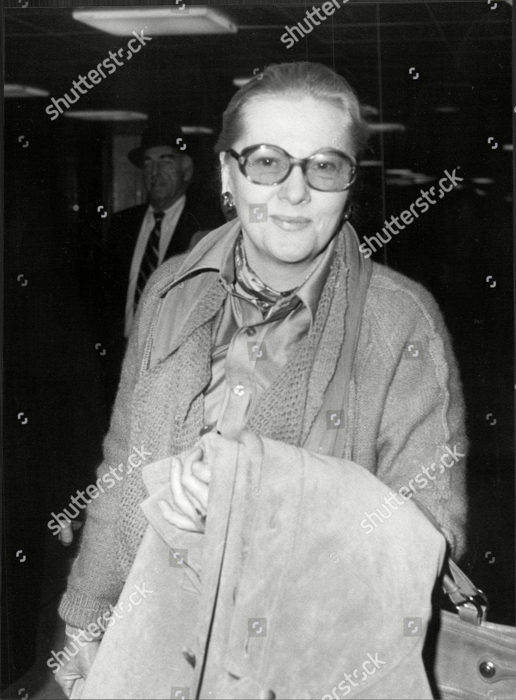 Actress Joan Fontaine Joan De Beauvoir De Editorial Stock