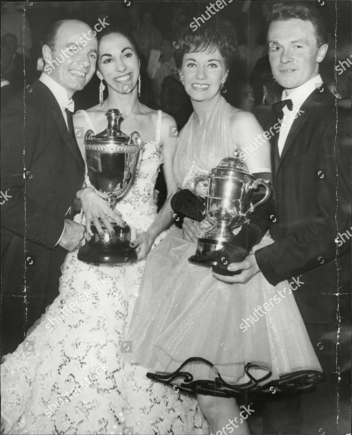 Ballroom Dancers Bill Irvine And Bobbie Irvine (left) And John Westley And  Betty Westley