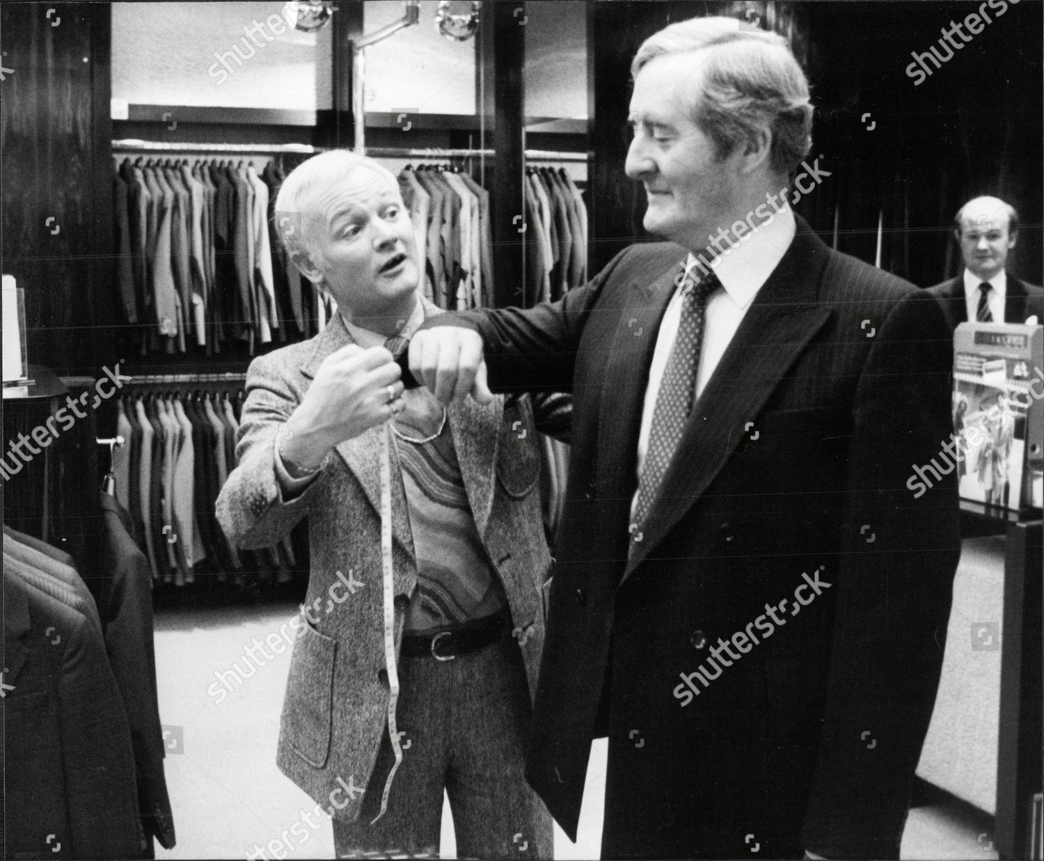 Actor John Inman Austin Reed Shop Regent Editorial Stock Photo Stock Image Shutterstock
