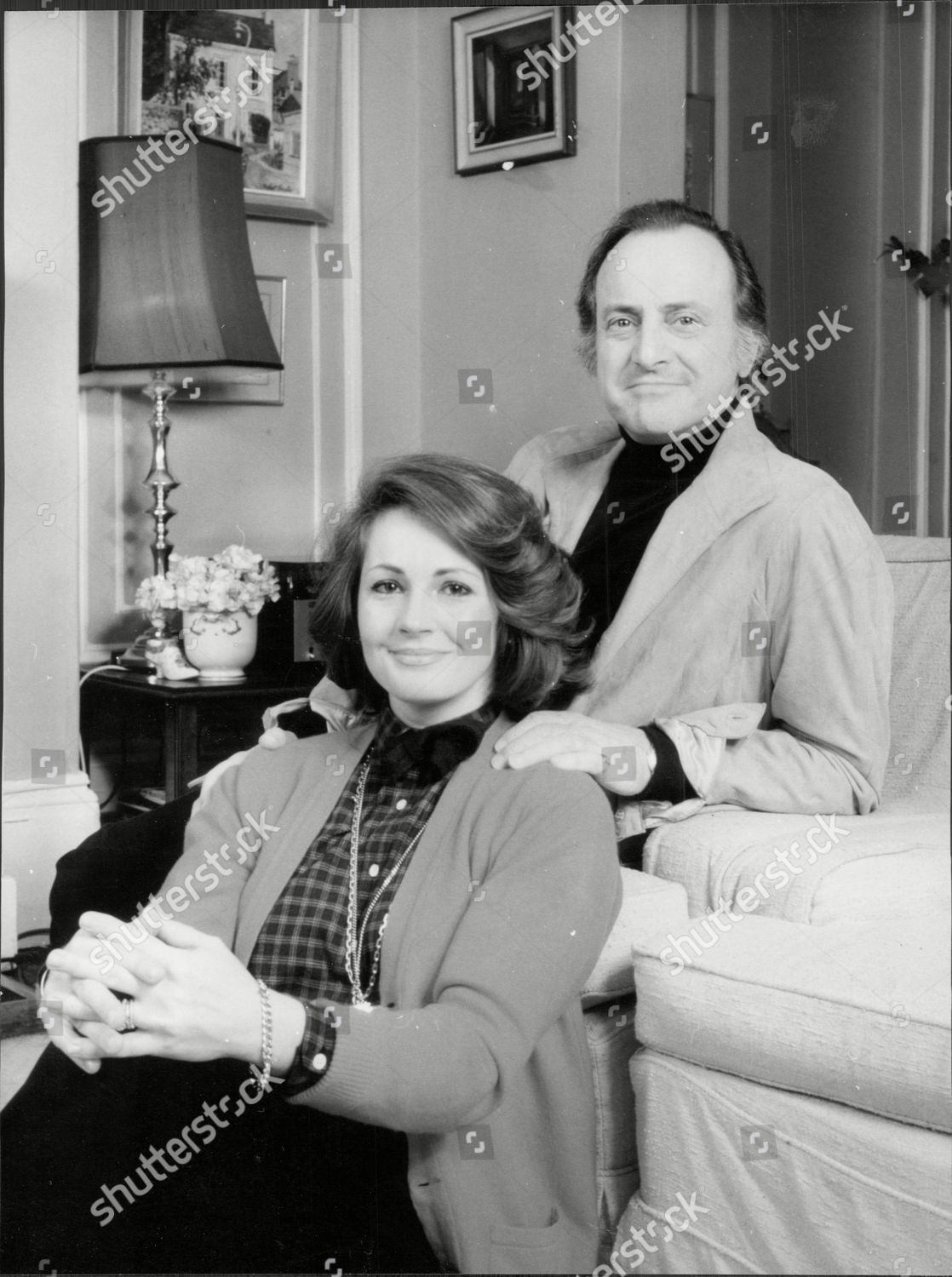 Actor And Television Presenter David Jacobs 3rd Wife Model Lindsay Hutcheson Mrs Lewis Cbe Born 19 May 1926 Is A British
