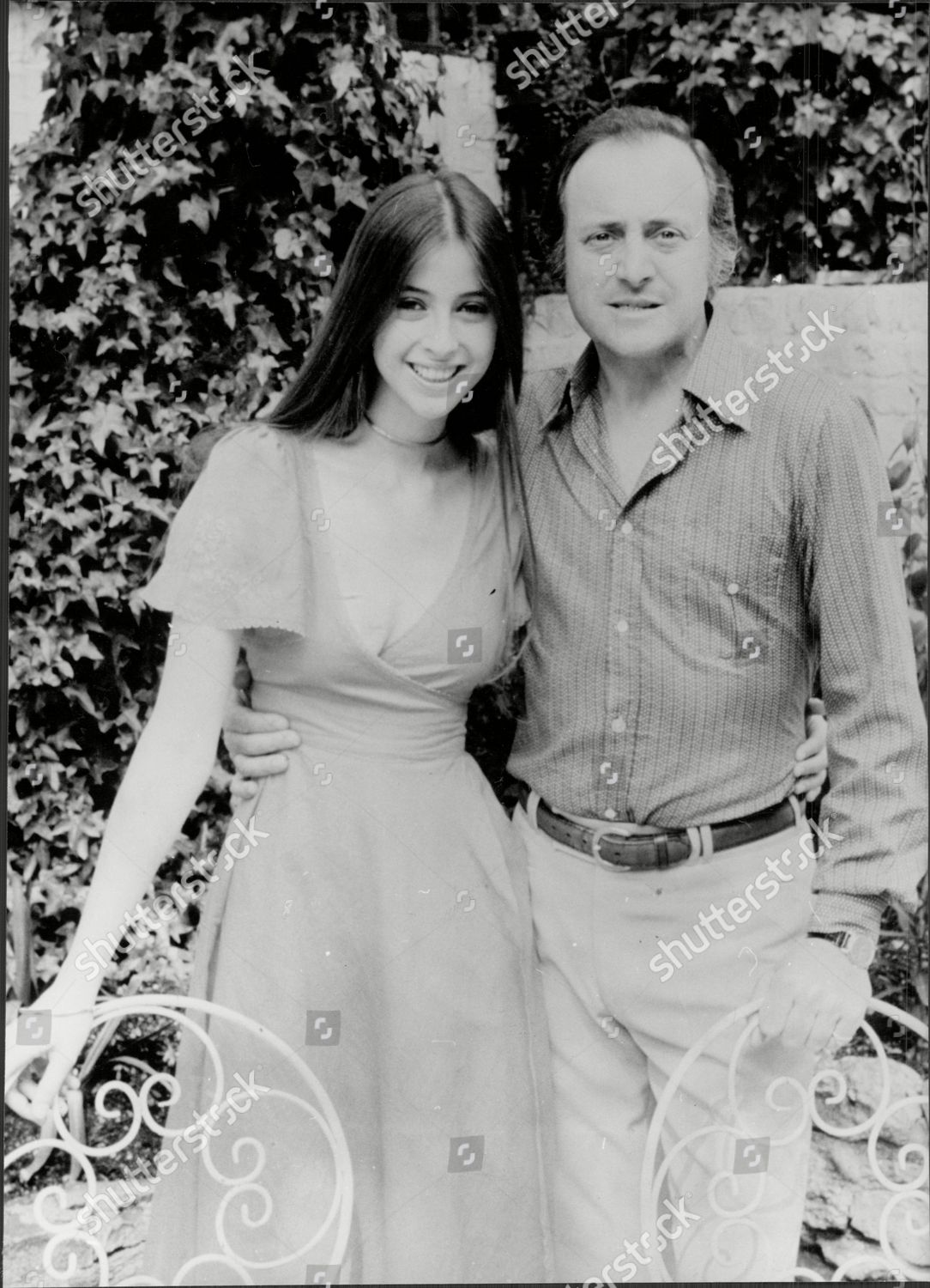 Actor And Television Presenter David Jacobs With Actress Daughter Emma Lewis Cbe Born 19 May 1926 Is A British Broadcaster