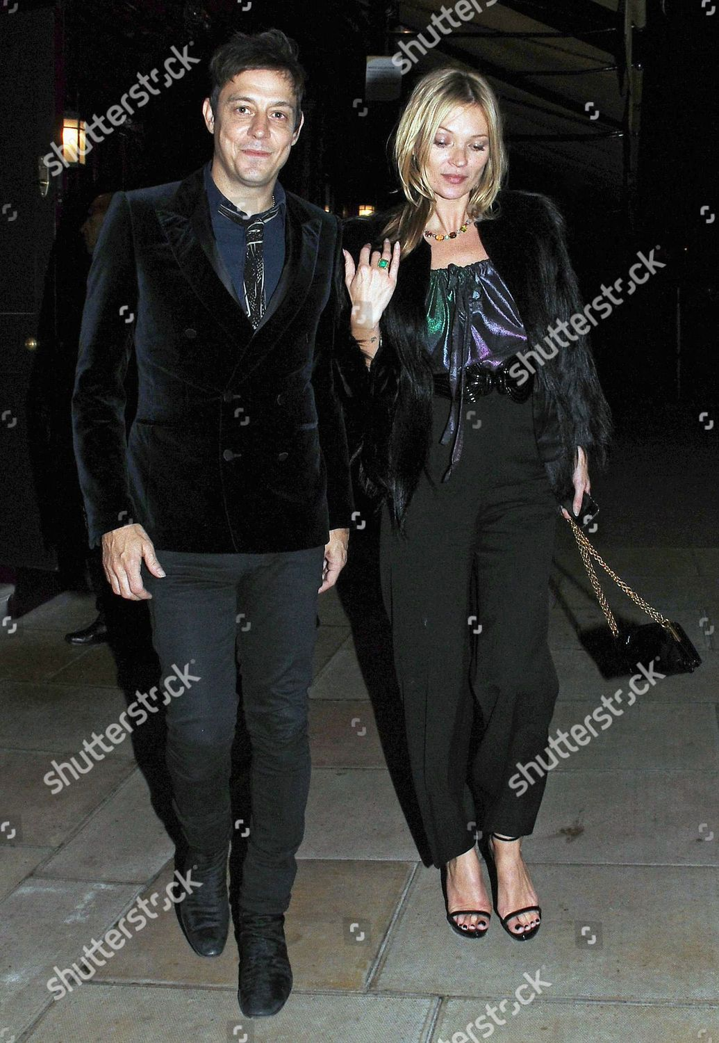 Jamie Hince Kate Moss Stock Photo 1976764e Shutterstock