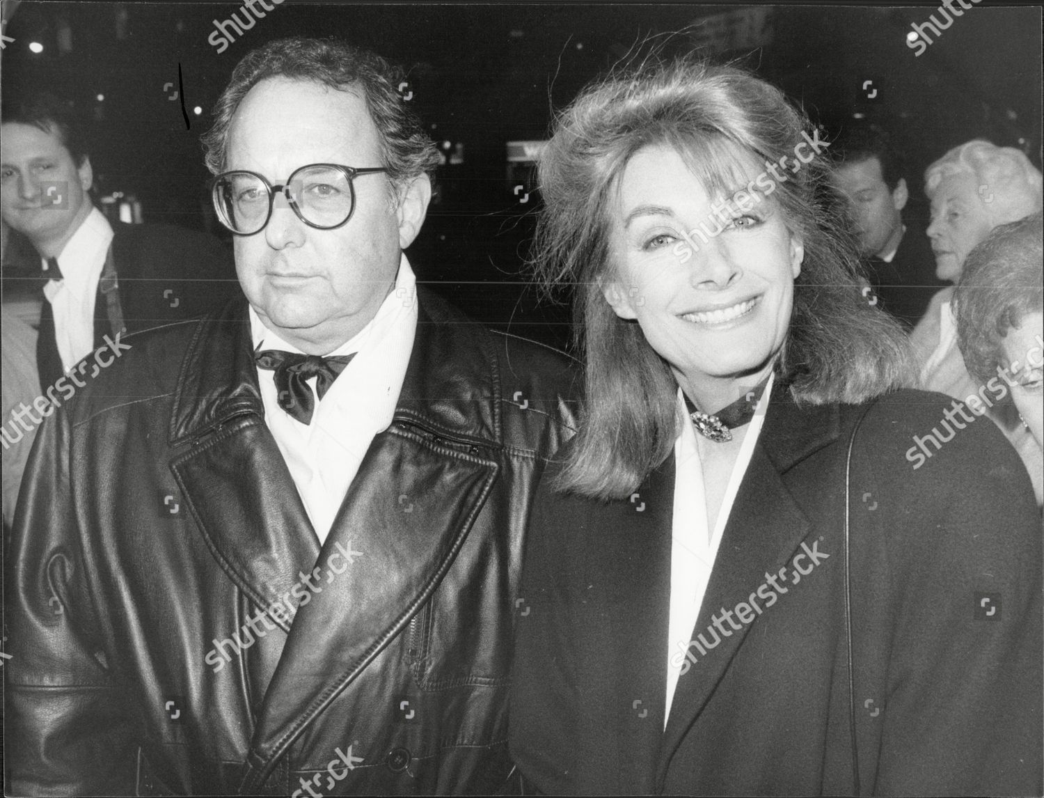 Actress Jean Marsh At National Theatre For Musical High Society With Friend Lyndsey