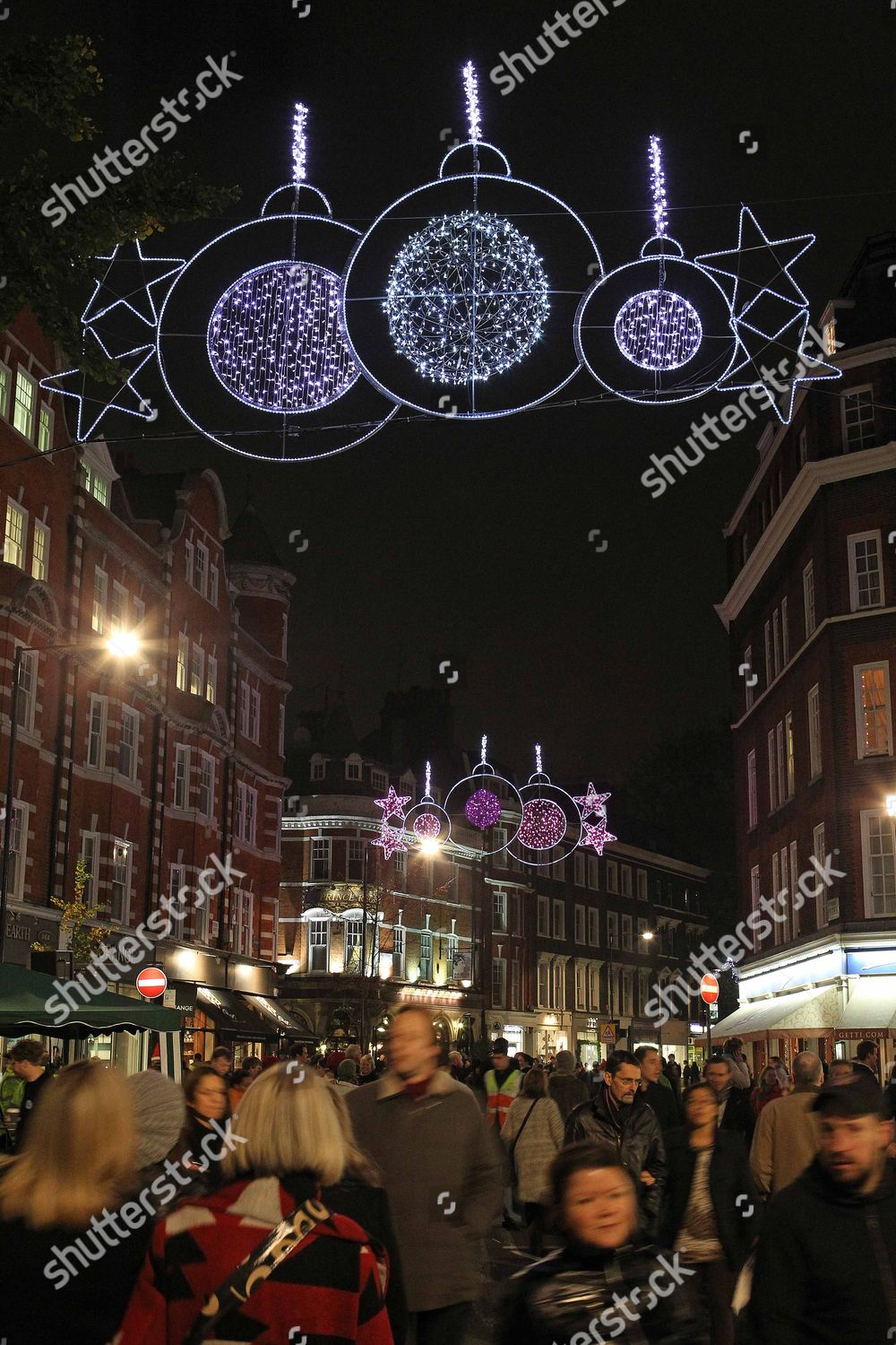 Phillips Christmas Lights.Marylebone High Street Christmas Lights Were Switched