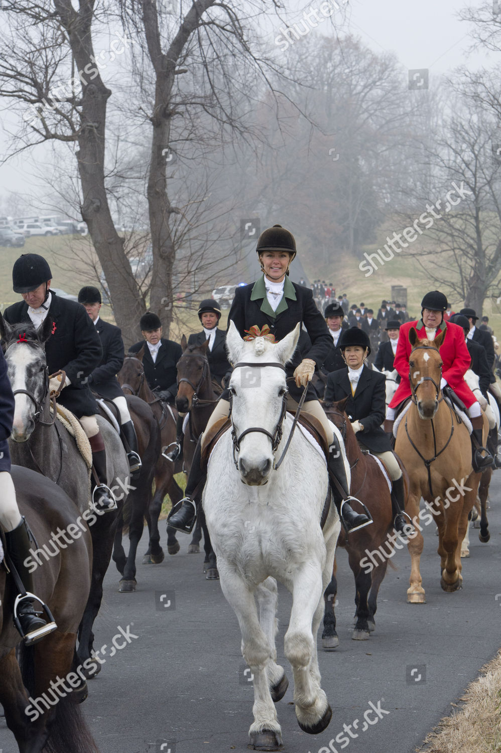 Christmas In Middleburg.Middleburg Hunt Club Prepares Their Annual Christmas