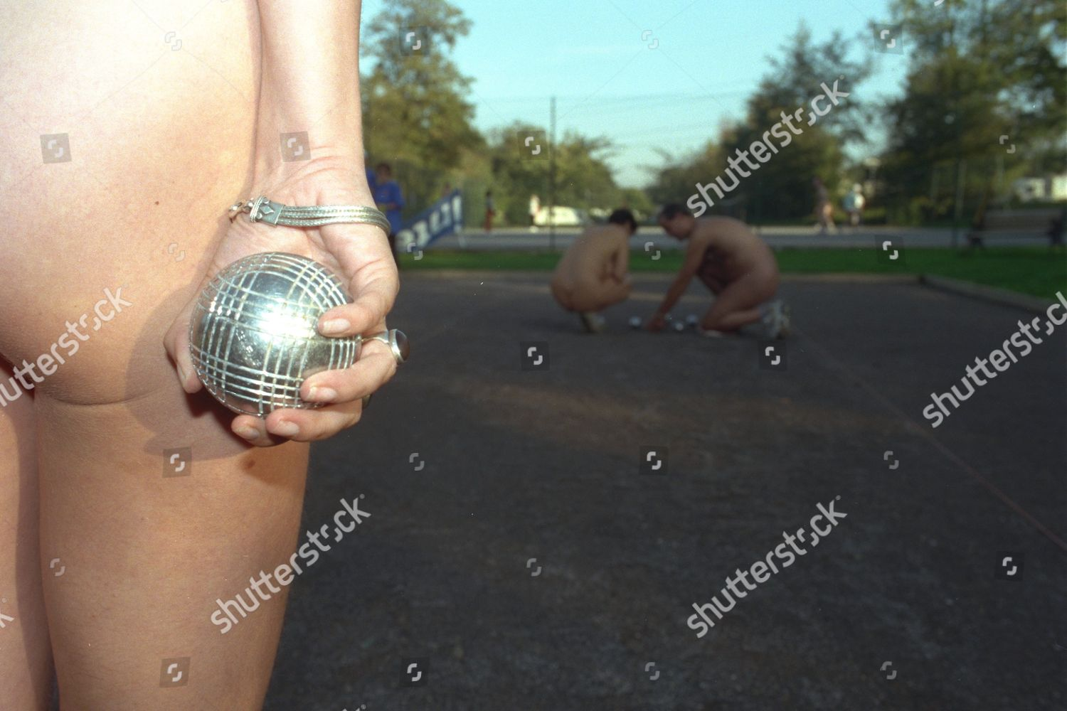 Petanque Tournament South Hants Country Sun Club Editorial Stock Photo -8597