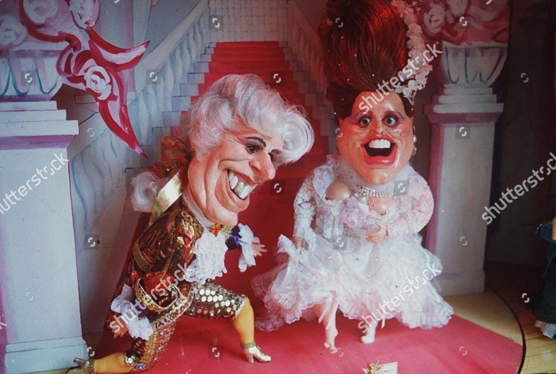 Spitting Image Puppets Prince Andrew Sarah Ferguson Editorial