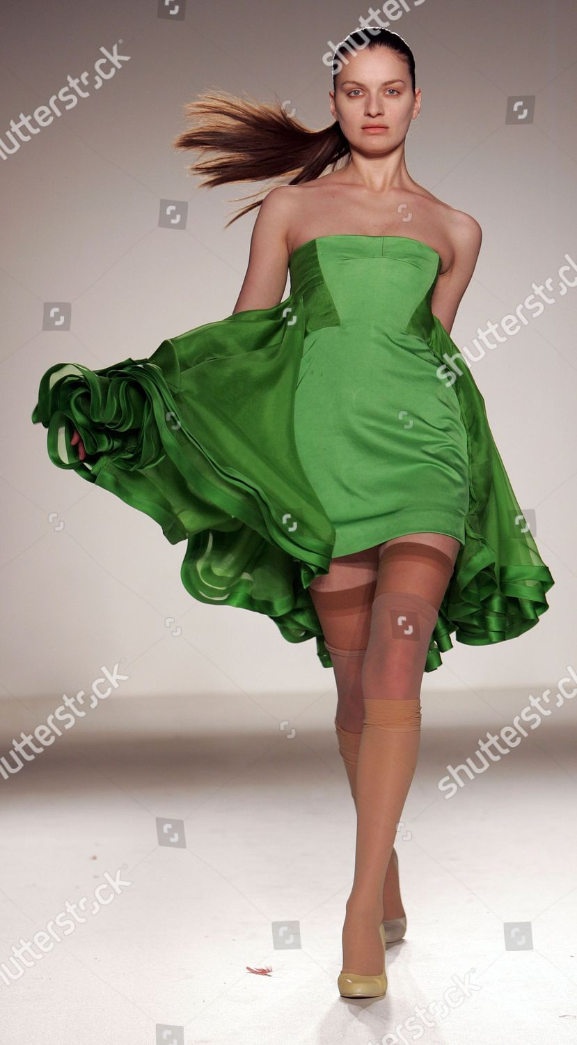 Lcf Fashion Show Fiona Lewis Final Year Editorial Stock Photo Stock Image Shutterstock