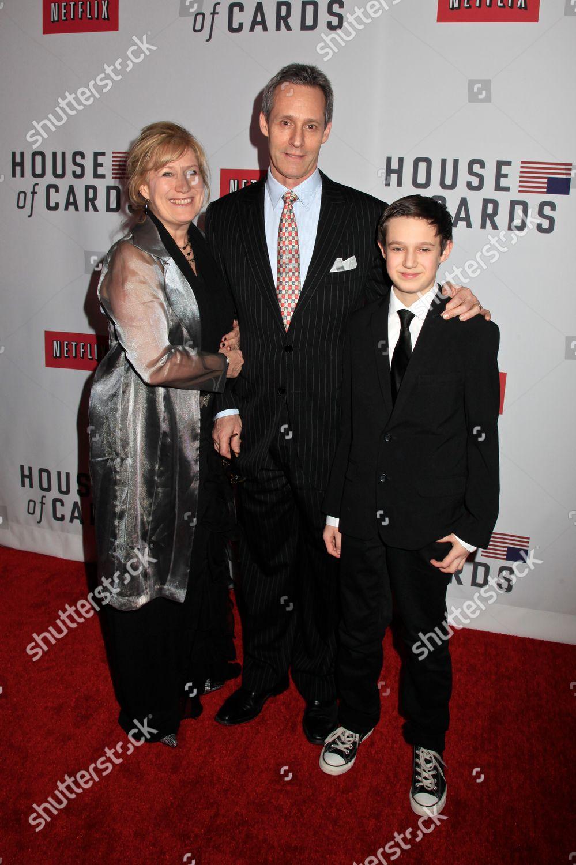 Jayne Atkinson husband Michael Gill son Jeremy Editorial ...