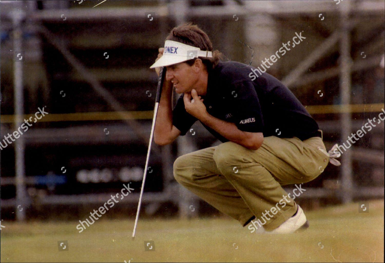 American Golfer Steve Pate During Open Muirfield Editorial