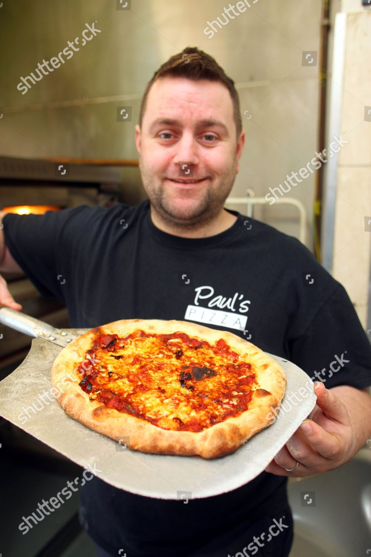 Paul Brayshaw His Spicy Saltdean Sizzler Pizza Editorial