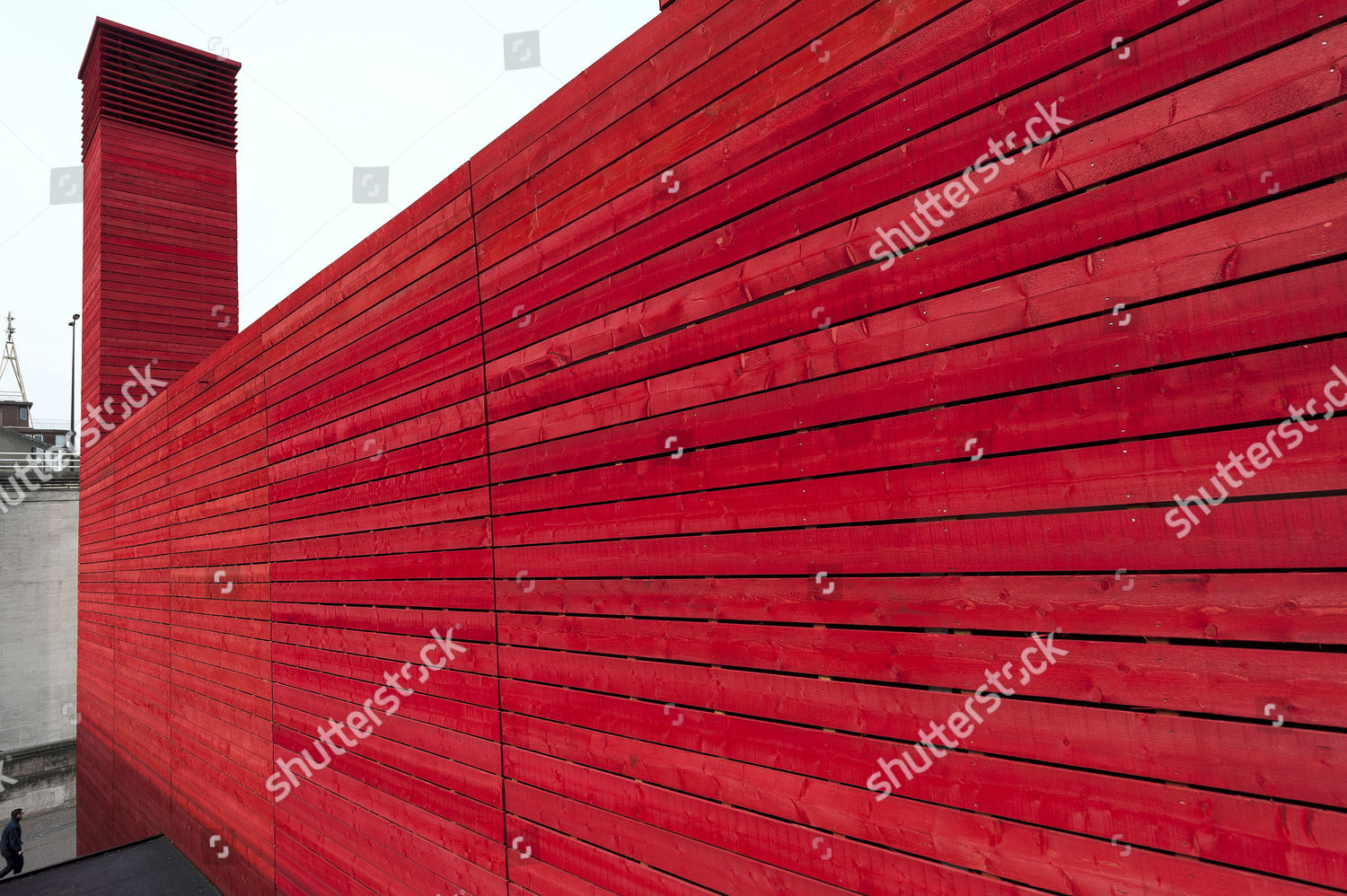 Exterior Shed outside National Theatre Editorial Stock Photo - Stock
