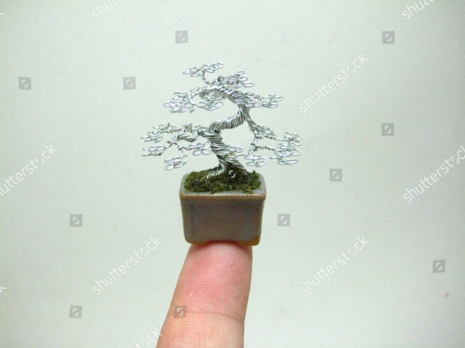 Copper Wire Bonsai Tree By Ken Editorial Stock Photo Image What Does Wiring A Do Artist Creates Miniature Out Of Twisted America Mar 2013