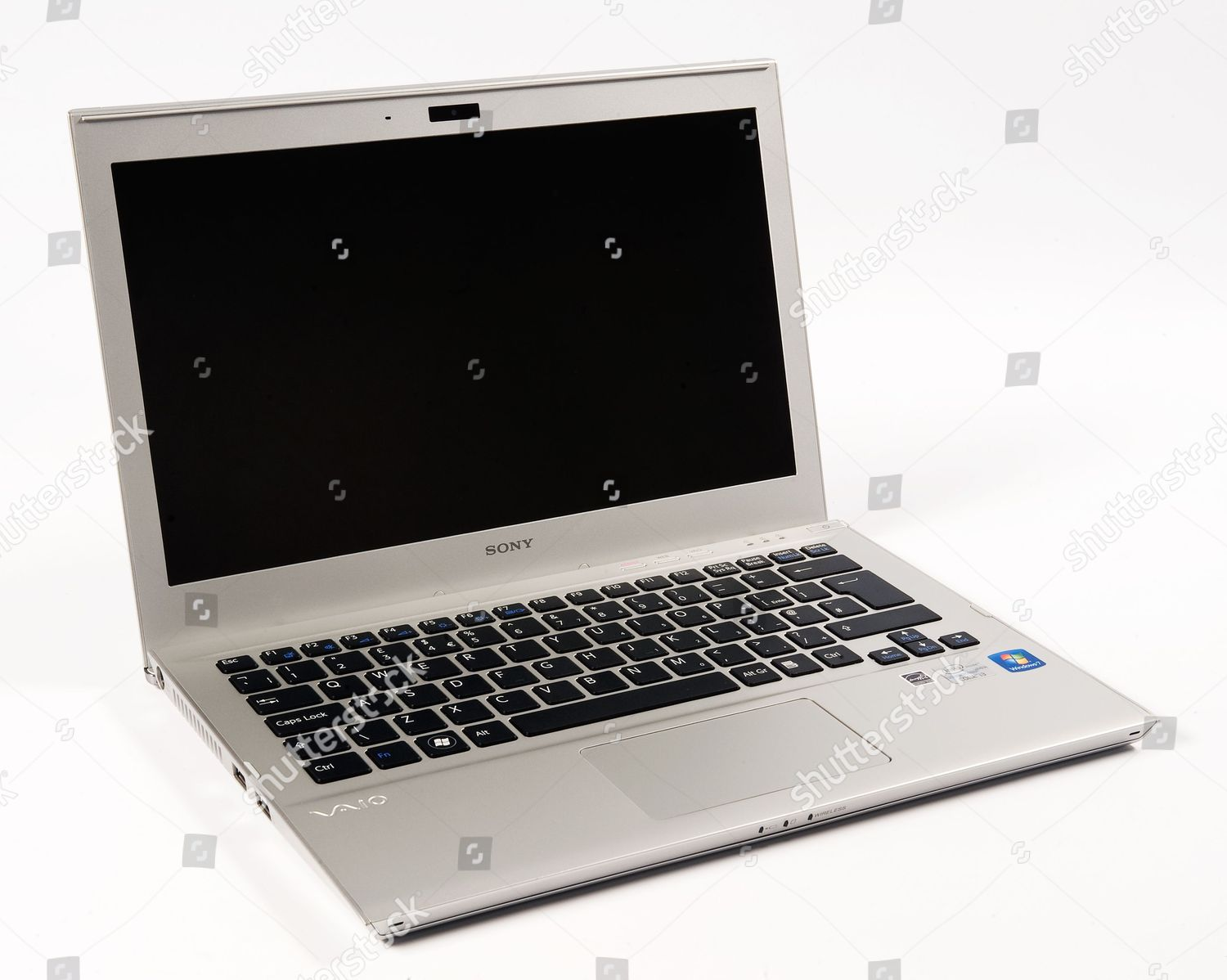 Sony Vaio T13 Laptop PC Editorial Stock Photo - Stock Image