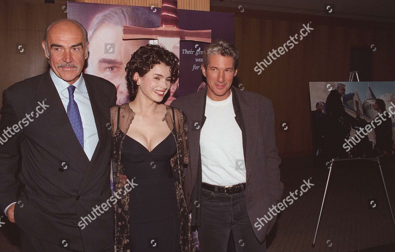 Julia Ormond Immagini foto stock editoriale richard gere julia ormond sean connery