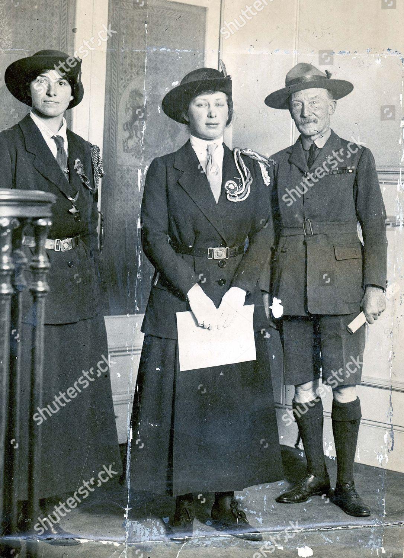 Lady Baden Powell,Olave Baden-Powell,Robert Baden-Powell,Army Officer,1