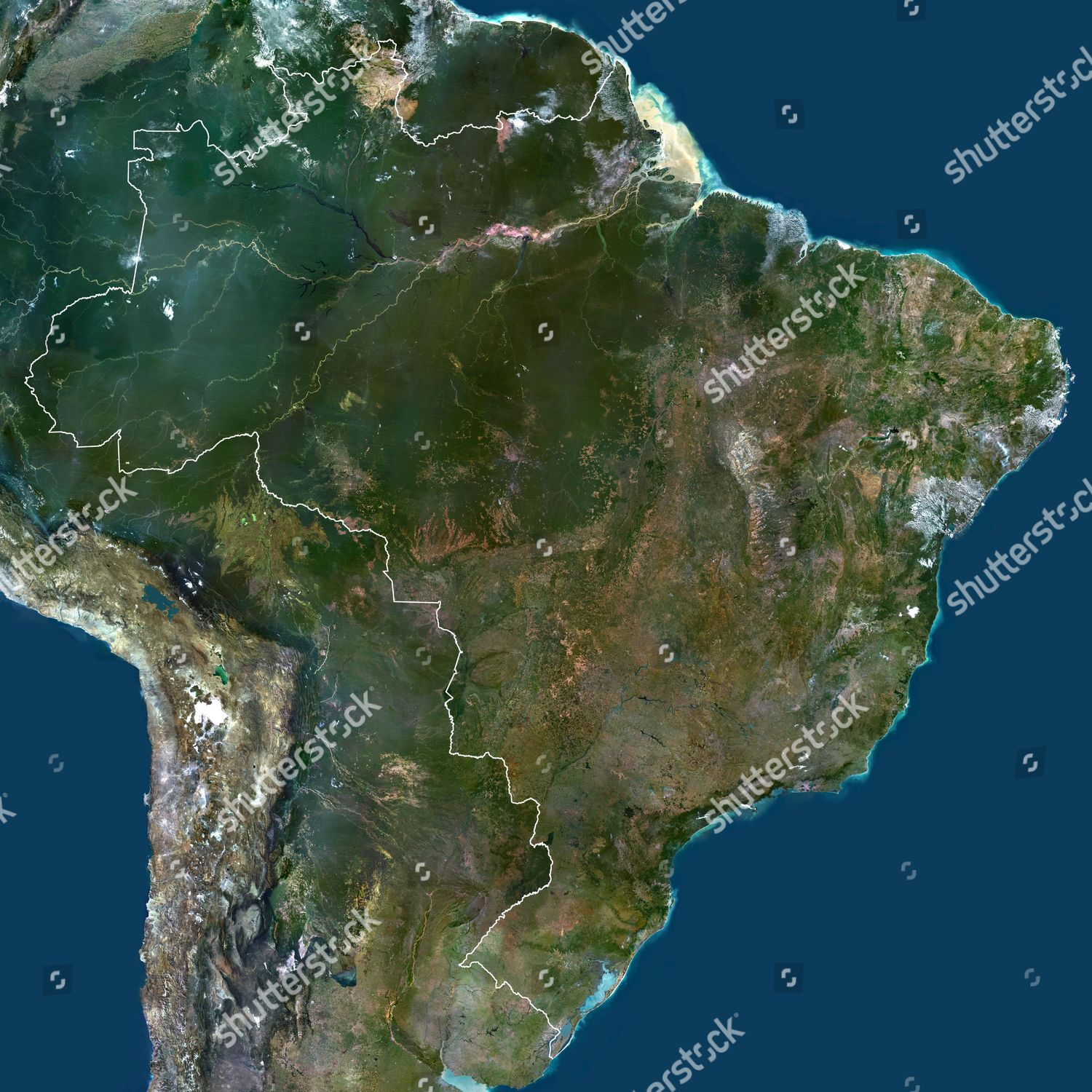 zil South America True Colour Satellite Image Editorial ... on hd map of south america, precipitation of south america, labeled map of south america, physical features of south america, statistics of south america, google maps south america, physical map of south america, thematic map of south america, large map of south america, satellite maps of homes, north america, map of africa and south america, satellite maps of usa, complete map of south america, blank outline map of south america, a blank map of south america, full map of south america, current map of south america, google earth south america, topographic map of south america,