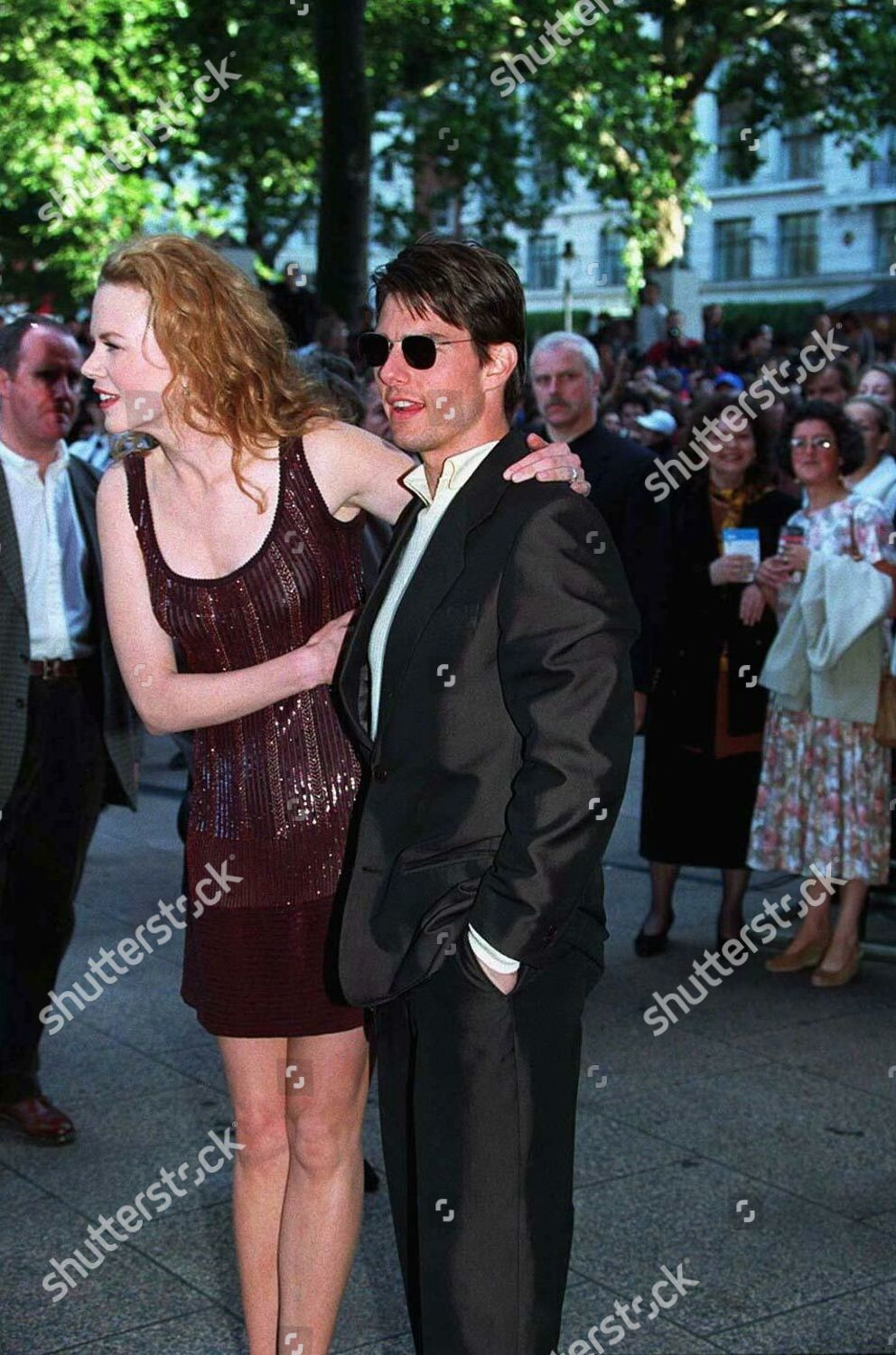 TOM CRUISE NICOLE KIDMAN Editorial Stock Photo - Stock Image