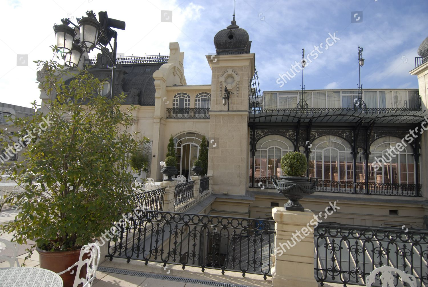 La Terraza Del Casino Madrid Spain Foto Editorial En Stock