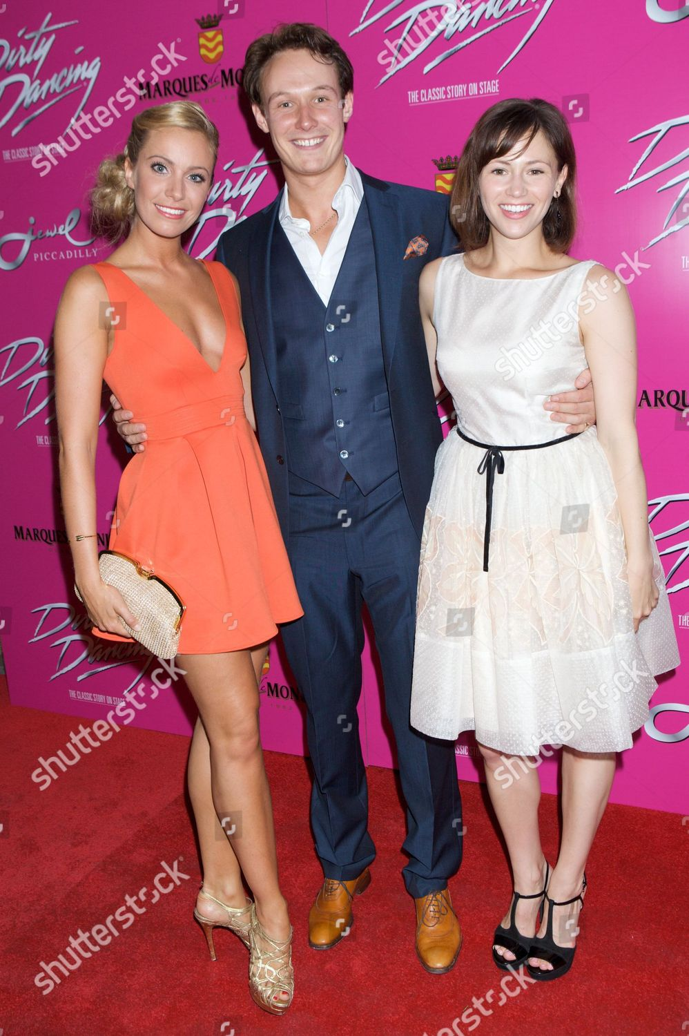 Stock photo of 'Dirty Dancing' stage show press night, London, Britain - 17 Jul 2013