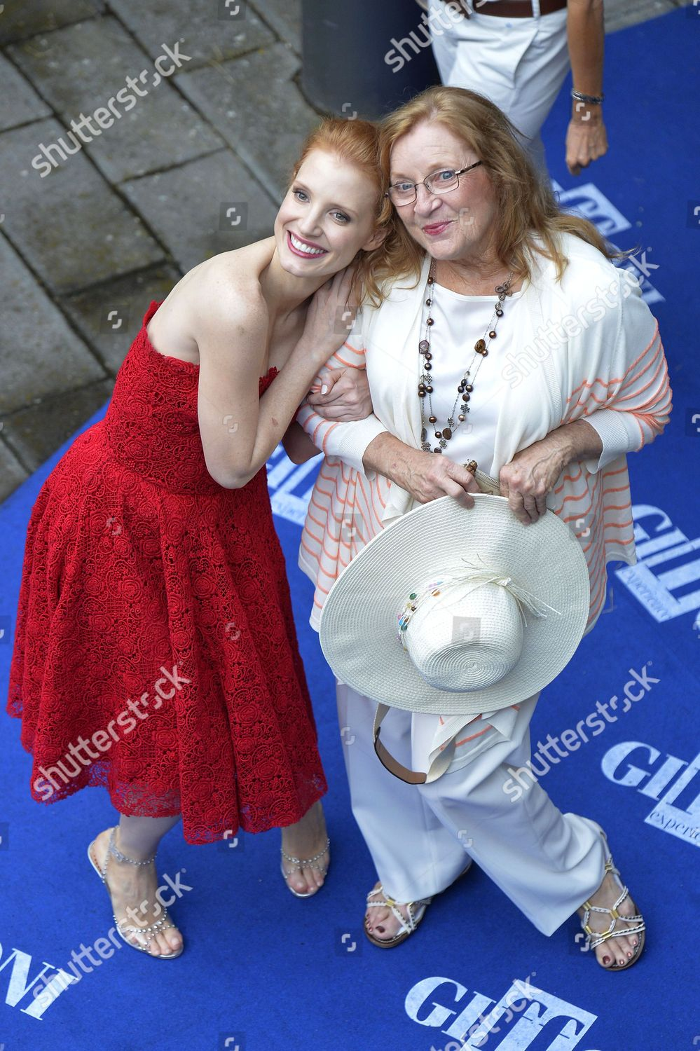 Jessica Chastain her grandmother Marilyn Editorial Stock Photo ...