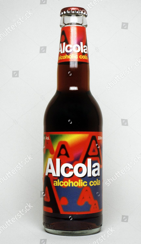 Bottle Alcola Alcoholic Cola Editorial Stock Photo - Stock