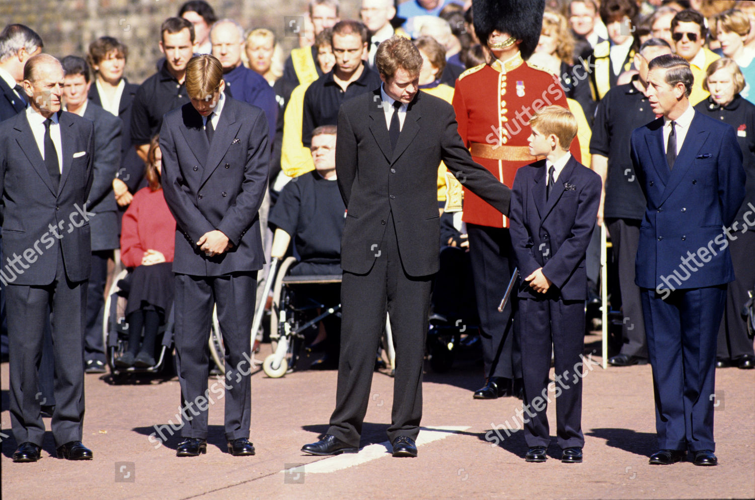 Prince Philip Prince William Charles Earl Spencer ...