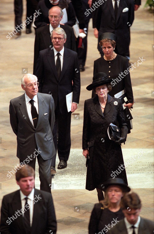 Denis Margaret Thatcher John Norma Major Editorial Stock Photo Stock Image Shutterstock