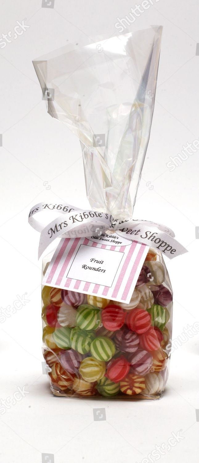 Mrs Kibbles bag sweets Editorial Stock Photo - Stock Image