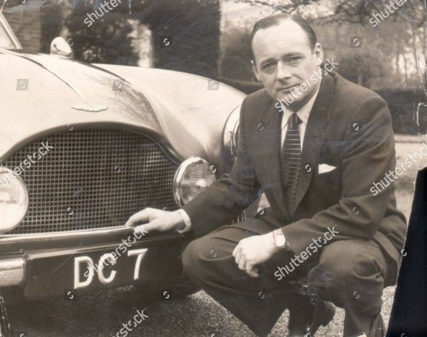 Donald Campbell His New Aston Martin Dc Editorial Stock Photo Stock Image Shutterstock