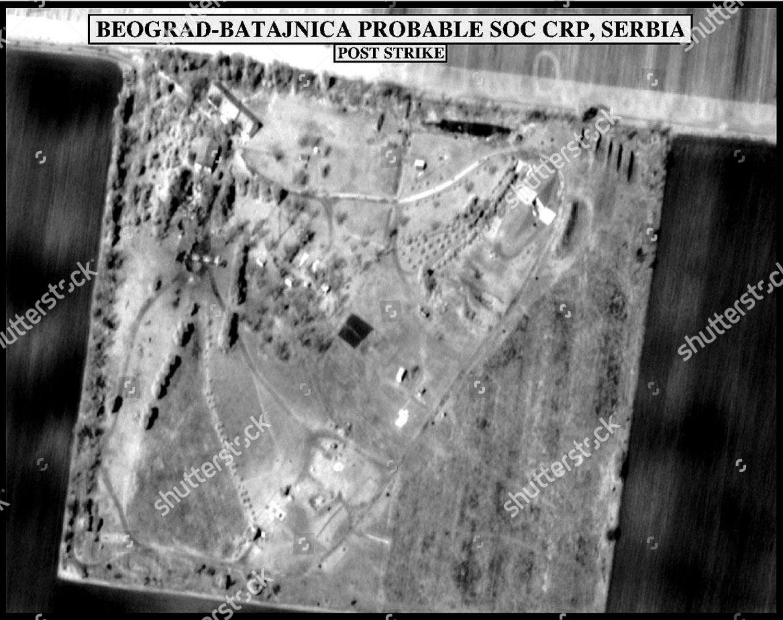 AERIAL SURVEILLANCE PHOTOGRAPH SHOWING BEOGRAD BATAJINICA