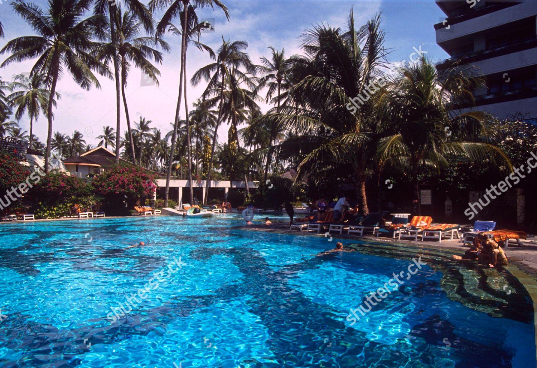 Swimming Pool Grand Bali Beach Hotel Sanur Editorial Stock