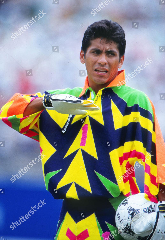 Football Jorge Campos Mexico Who Designed All Redaktionelles Stockfoto Stockbild Shutterstock