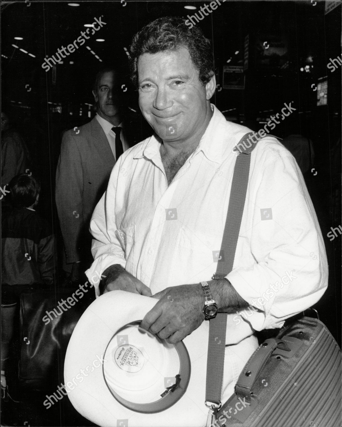 1317d969caad Actor William Shatner At Gatwick William Shatner (born March 22 1931) Is A  Canadian