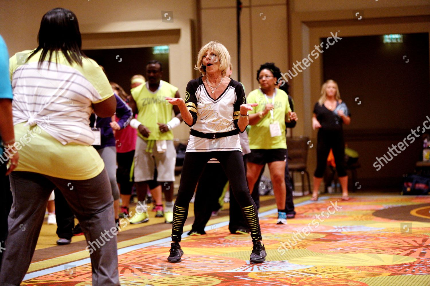 Sex at zumba convention