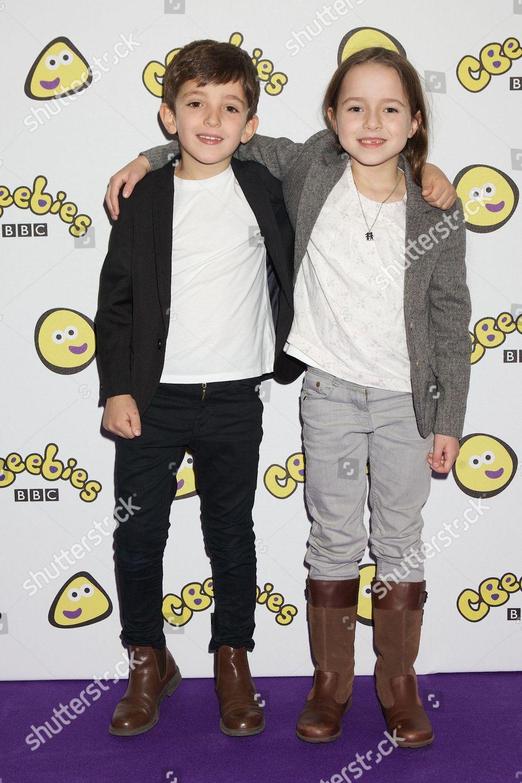 Stock photo of CBeebies Premiere of Katie Morag, Topsy & Tim and Tree Fu Tom, London, Britain - 27 Oct 2013
