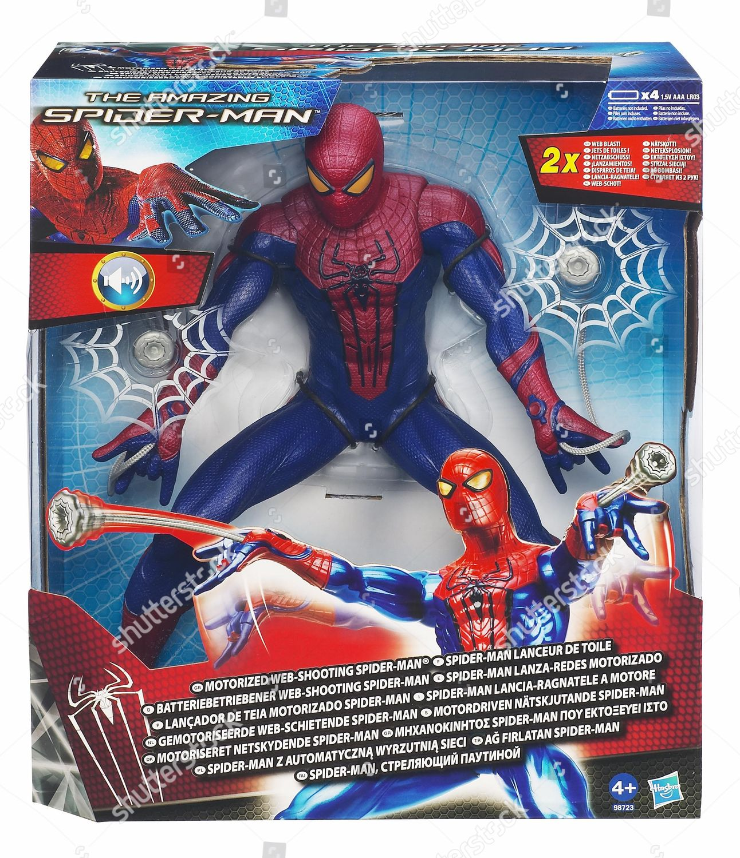 Spiderman Christmas.2012s Top Toys Christmas Web Shooting Spiderman Editorial
