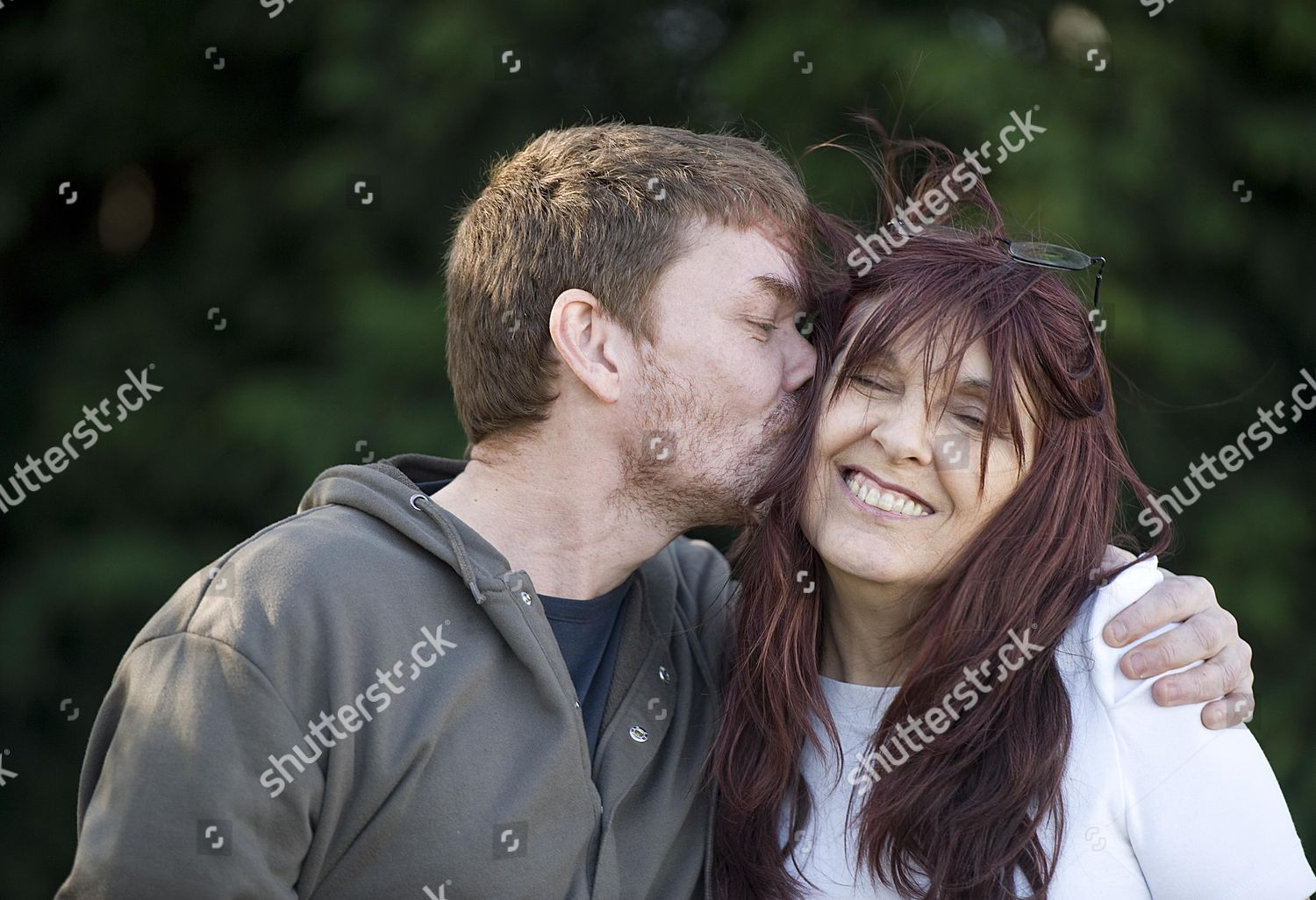 Gary Mckinnon Pictured Today 161012 His Mother Editorial Stock Photo