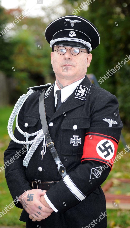 Paul Dutton his SS uniform Editorial Stock Photo - Stock