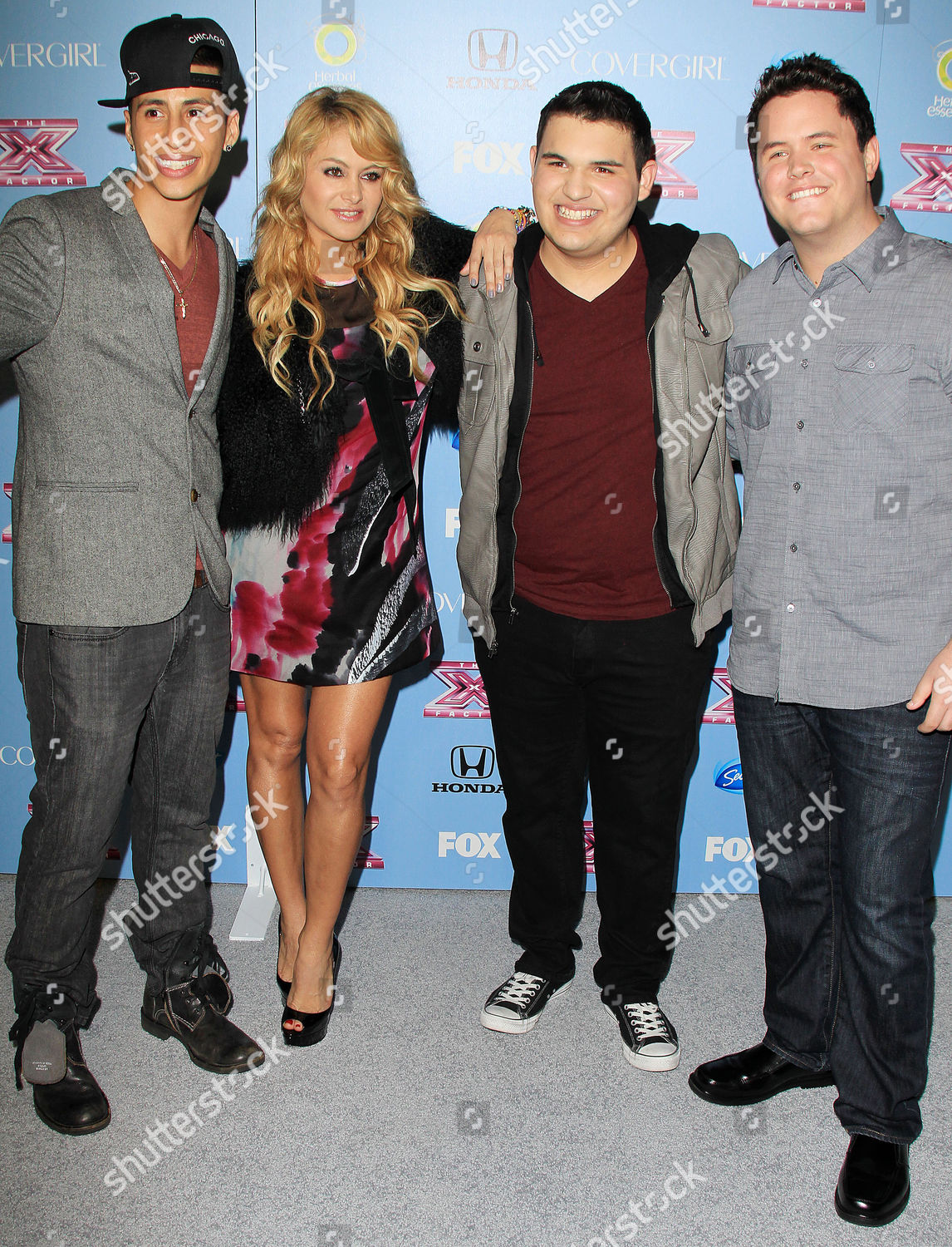 Stock photo of 'The X Factor' US TV Show Top 12 Finalists Revealed, Los Angeles, America - 04 Nov 2013