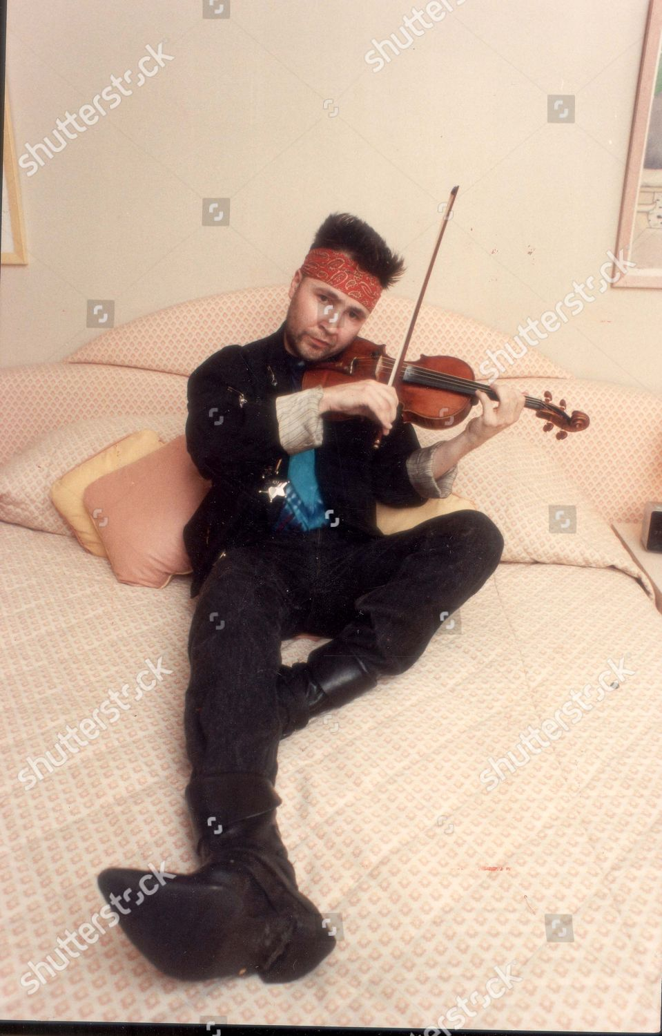 Nigel Kennedy Violinist Editorial Stock Photo - Stock Image
