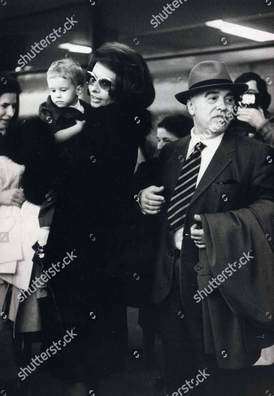 Actress Sophia Loren Husband Carlo Ponti Their Editorial Stock Photo Stock Image Shutterstock