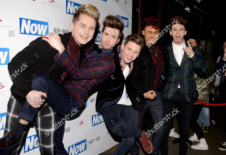 Stock photo of Now Magazine Christmas party, London, Britain - 26 Nov 2013