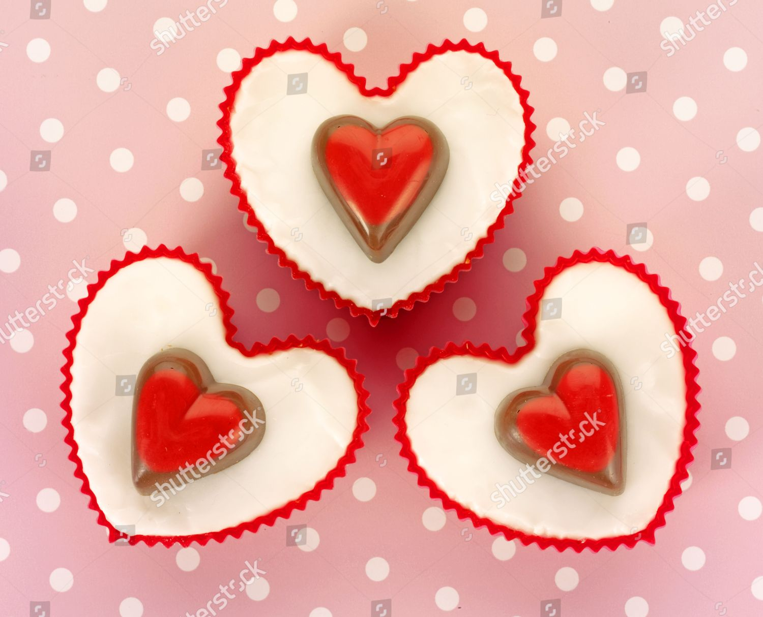 Valentines Day Cakes Editorial Stock Photo Stock Image Shutterstock