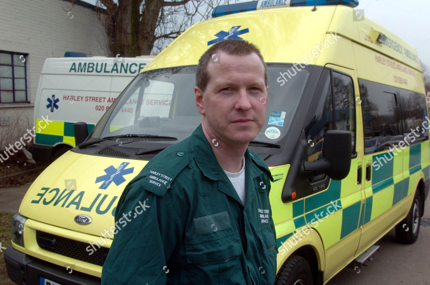 Harley Street Ambulance Service Operations Manager Steve