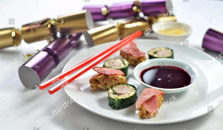 Pork Stuffing Sushi Editorial Stock Photo Stock Image