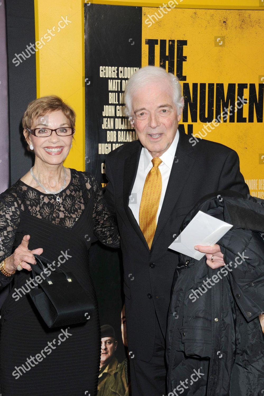 Stock photo of 'The Monuments Men' film premiere, New York, America - 04 Feb 2014