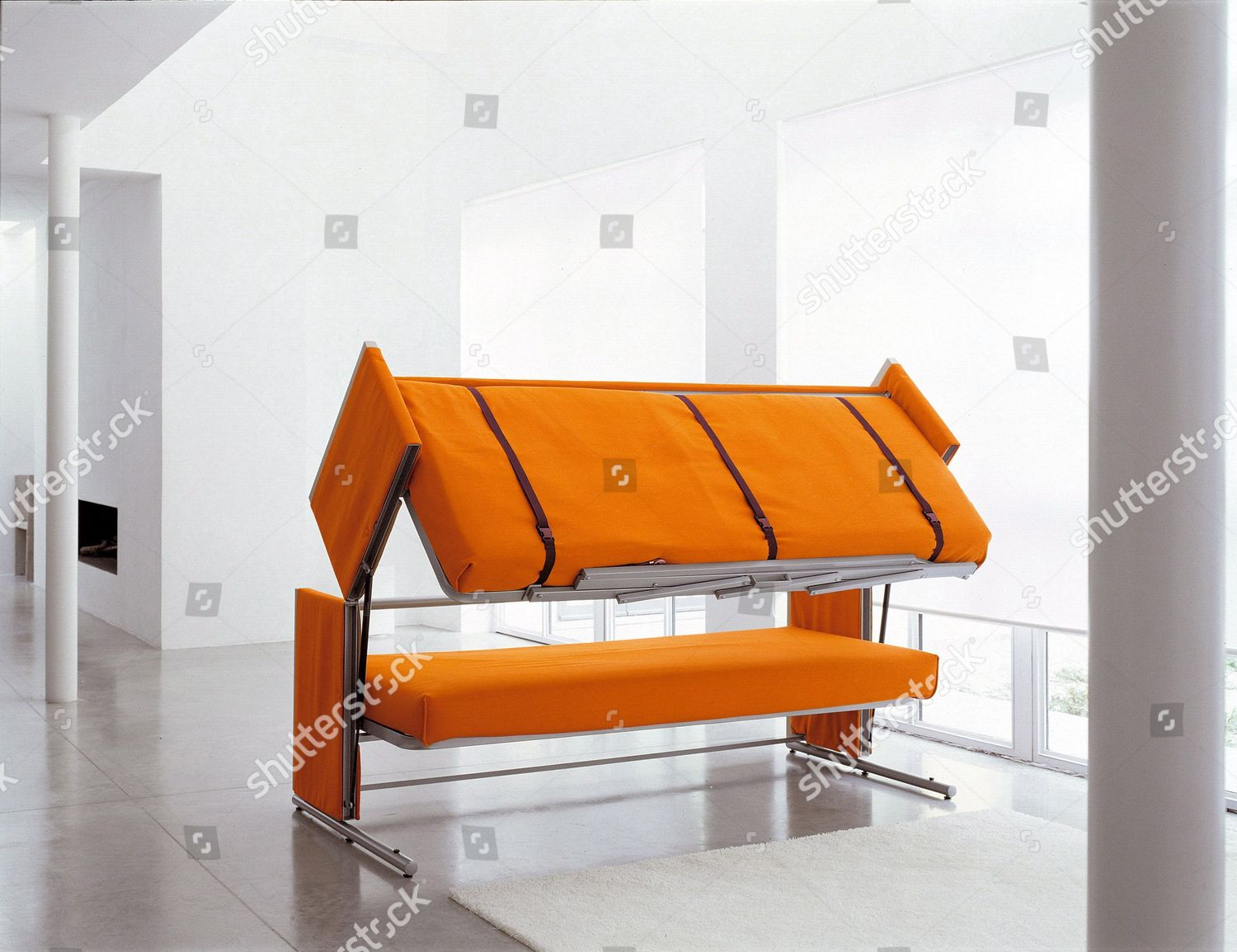 sofa bed being transformed into bunk bed editorial stock photo rh shutterstock com sofa transforms into bunk bed sofa into bunk bed uk