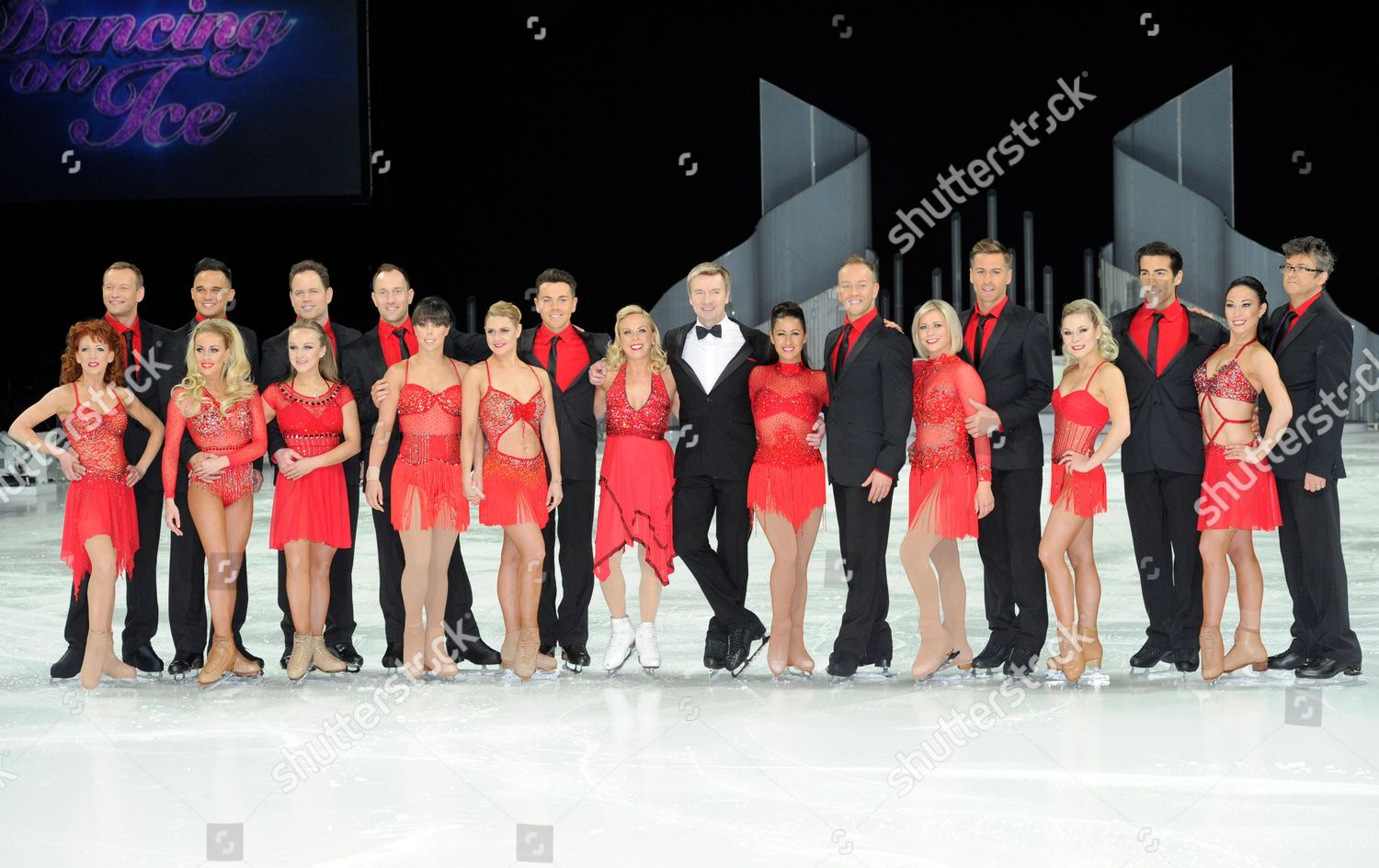 Stock photo of Dancing on Ice tour photocall, Manchester, Britain - 27 Mar 2014